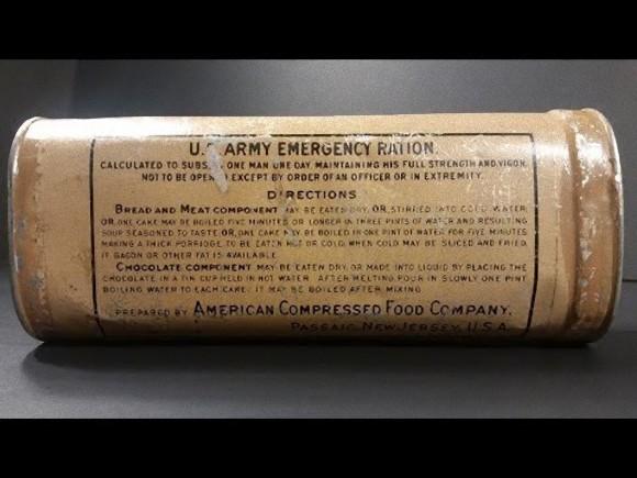 1906年製のアメリカ陸軍戦闘糧食(レーション)を開梱、試食してみた