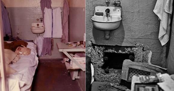 脱獄不可能と言われた監獄島、アルカトラズ島の刑務所で撮影された写真