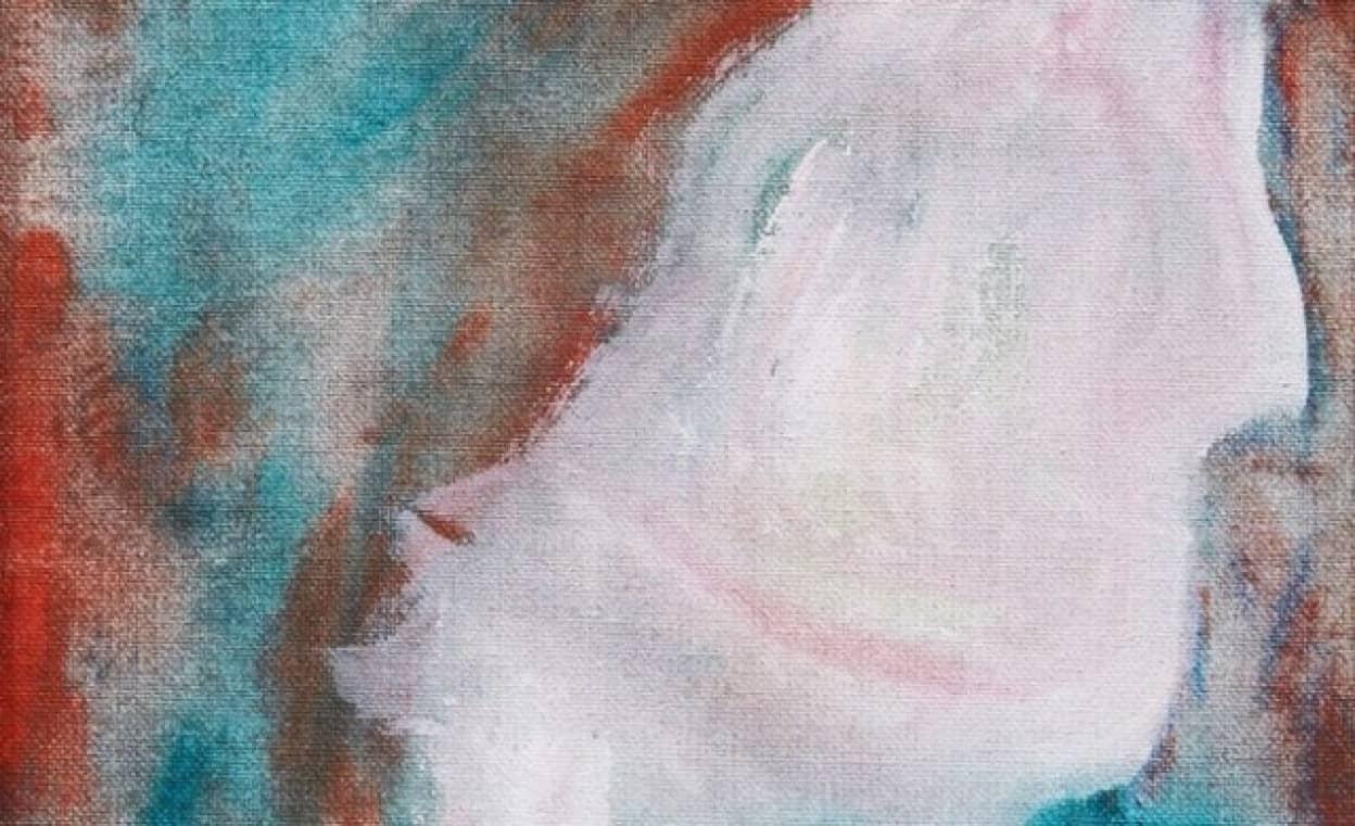 デヴィッド・ボウイの絵画がリサイクルショップで発見され360円で販売されていた