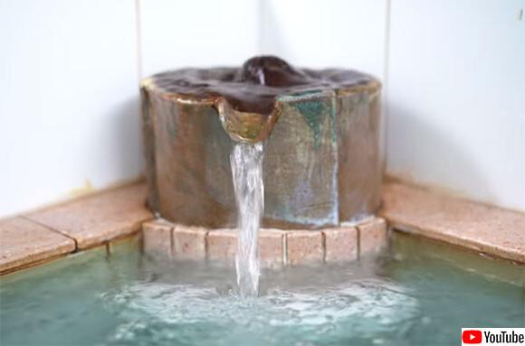 銭湯や温泉の水の流れる音を聞きながら自宅でリモートワークできる作業用動画
