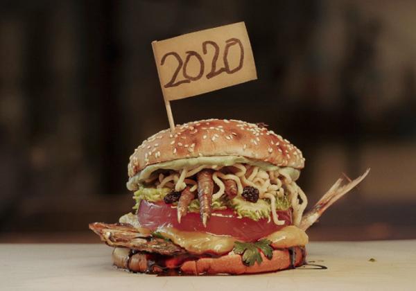 バーガーキング・ブラジルで2020年を象徴するひどいハンバーガーを作成