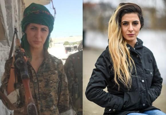 ISと戦うため志願兵となったデンマークの女子大生。自国ではテロリスト認定、ISには100人殺害で賞金首がかけられる。