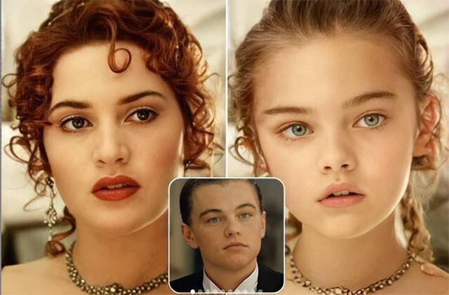 AIでカップル役の俳優と女優の子供を創造