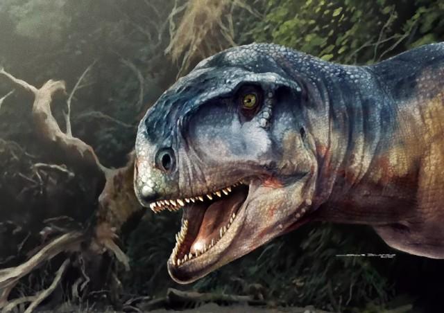 新種の肉食恐竜がアルゼンチンで発見される