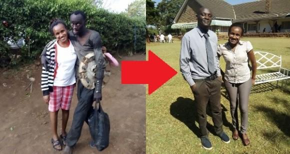 偶然か必然か?街で偶然出会い、薬物中毒のホームレスを救ったのはかつての同級生だった(ケニア)