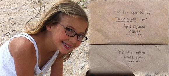 12歳で突然の死を迎えた少女。彼女の部屋には未来の自分に宛てた手紙が残されていた。
