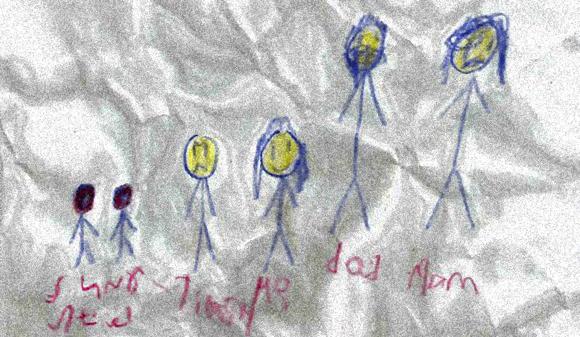 本当にあったゾクっとする話。6歳の娘が描いたあるはずのない部屋は実際に存在した。