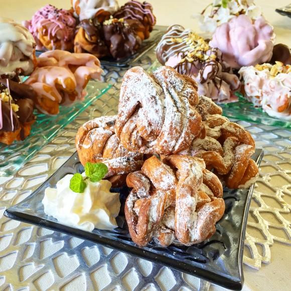 ドイツのお菓子、シュネーバルの作り方