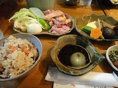 13炭火焼定食
