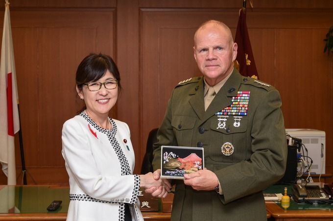 俺たちのネラー司令官「我々は日本防衛を目的に日本に駐留している」