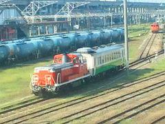 ディーゼル機関車110911