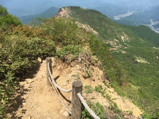 磐梯山 下山