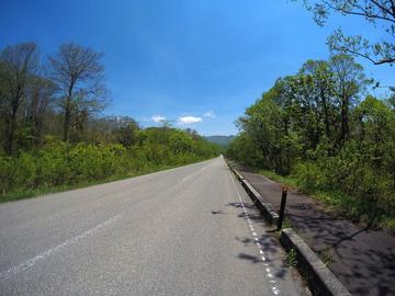 桧原湖一周サイクリング