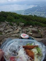 磐梯山山頂ご飯