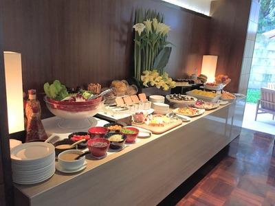 Les Suitesの朝食