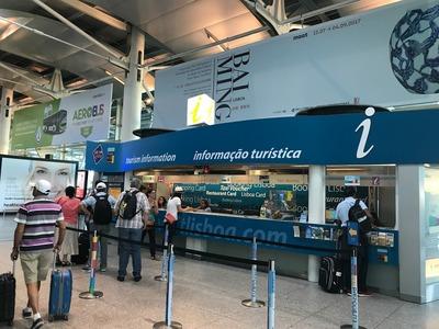 リスボンの空港でまずすべきこと