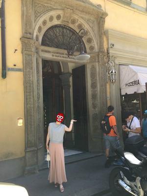 Santa Maria Novella薬局でお買い物
