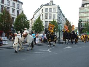 ベルギー夏祭り オメガング