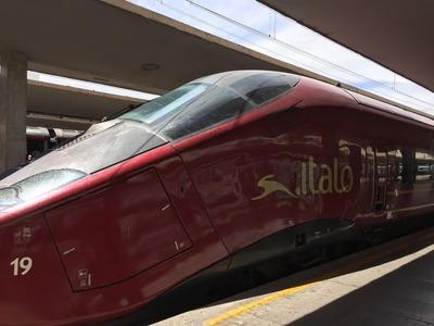 イタリア国内をItaloで電車移動