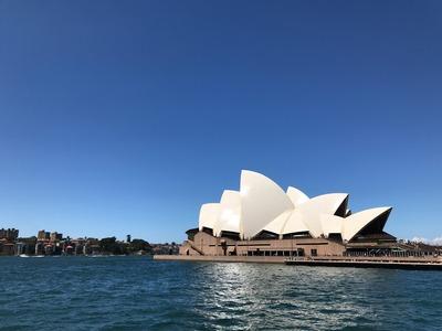 オーストラリアから帰国しました