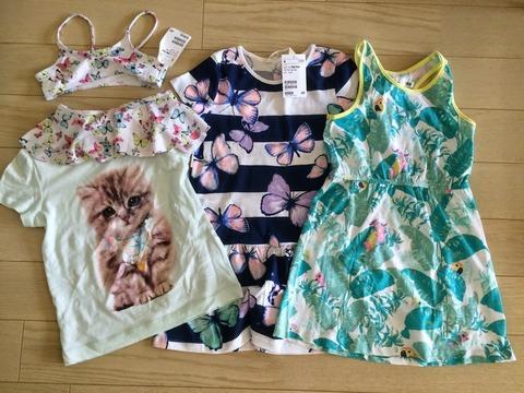 H&Mで子供服を初購入