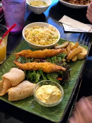 品川 Singapore Seafood Republicで週末子連れランチ