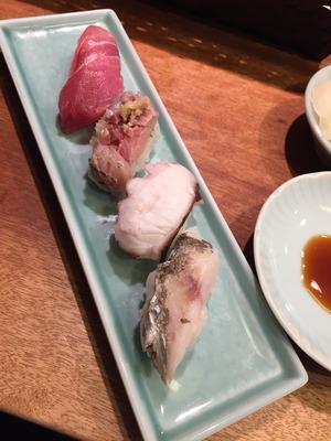 六本木 貝政で寿司ランチ