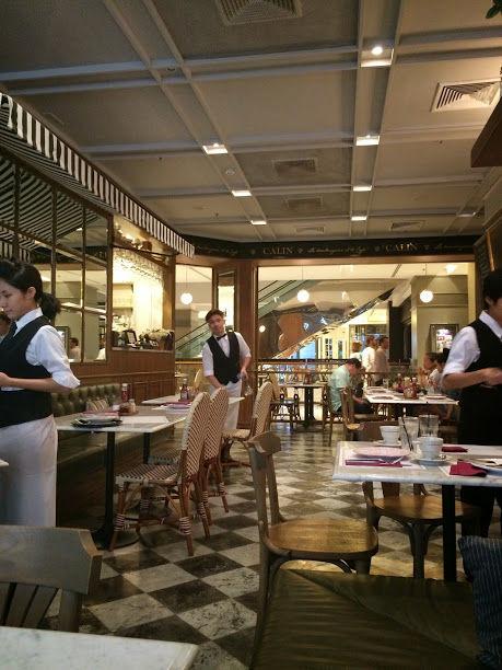 CALIN La Boulangerie et Le Caféでフレンチな朝食