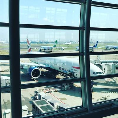 British Airwaysでリスボンへ