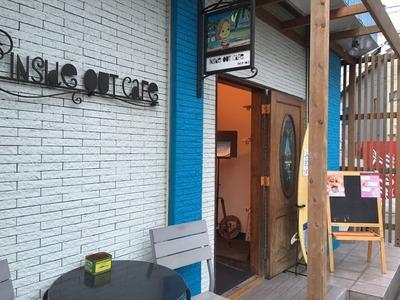 平塚 Inside Out Cafeでパンケーキディナー