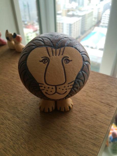 Lisa Larsonのライオンがやってきた