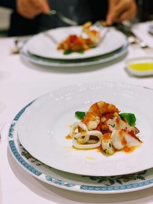 銀座 SABATINI di Firenzeで久々外食