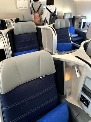 マレーシア航空 ビジネスクラス クアラルンプール - 成田