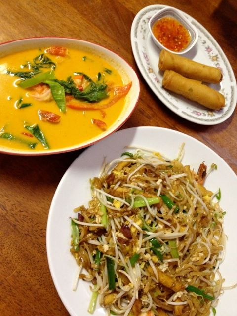 Spicy Thai Noodle Placeでディナー