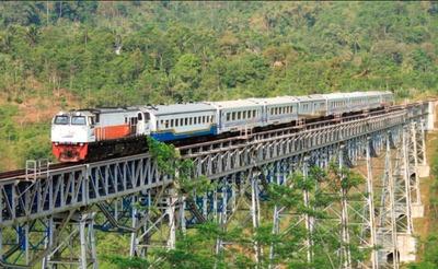 バンドン〜ジャカルタの電車を予約しました