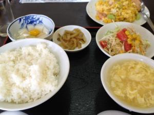 北品川 台湾キッチン榕城(ようじょう)でランチ