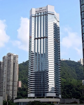 JWマリオット・ホテル香港の無料宿泊を予約しました