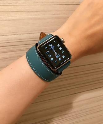 Apple Watch Hermès Series 2 バンド追加 Bleu Jean