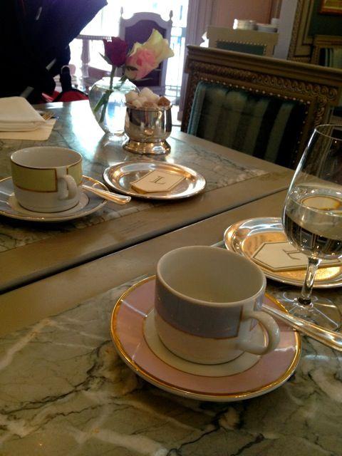 銀座 Ladureeで朝食