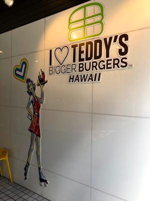 原宿 Teddy's Bigger Burgersで週末子連れランチ
