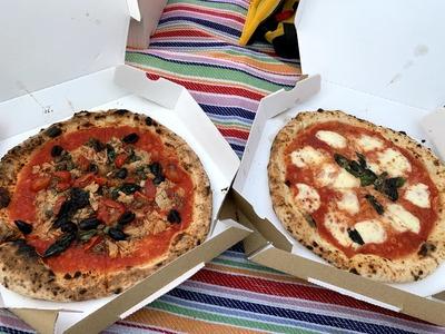 豊洲 ESSE DUE(エッセ ドゥエ)でピザをテイクアウト