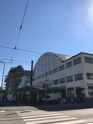 ヘルシンキの街歩き