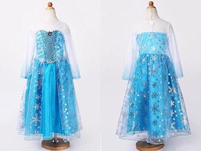 娘3歳の誕生日プレゼント その2 エルサのドレス