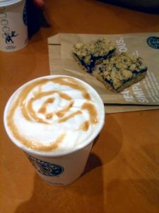 Starbucksでティータイム