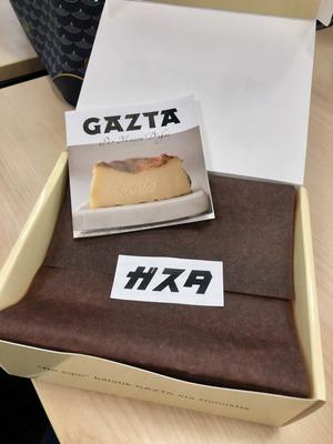 白金高輪 GAZTAのチーズケーキ