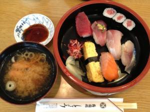 勝どき とよみ寿司で子連れランチ