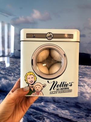 柔軟剤いらず?Nellie's Lambs DryerBalls