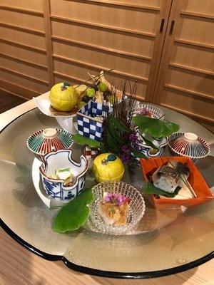 箱根 翠松園に宿泊してきました - 食事編