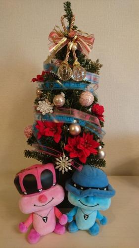 滝翼クリスマスツリー