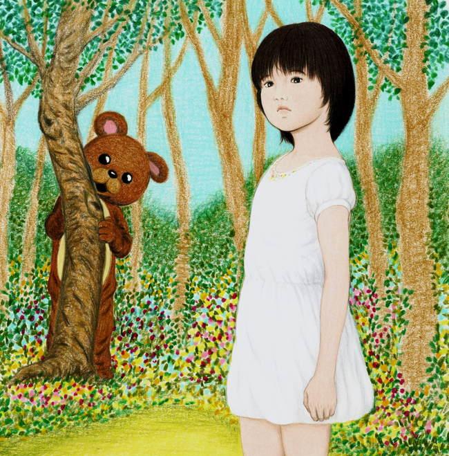 花梨ちゃんと 森のくまさん jpg 650